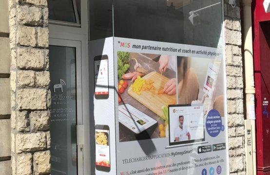 Boutique rue de la Croix Nivert 30m2