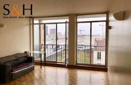 Studio Pantin avec vue 29m2 + Balcon