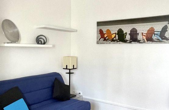 Studio 17m2 meublé Trocadéro refait à neuf