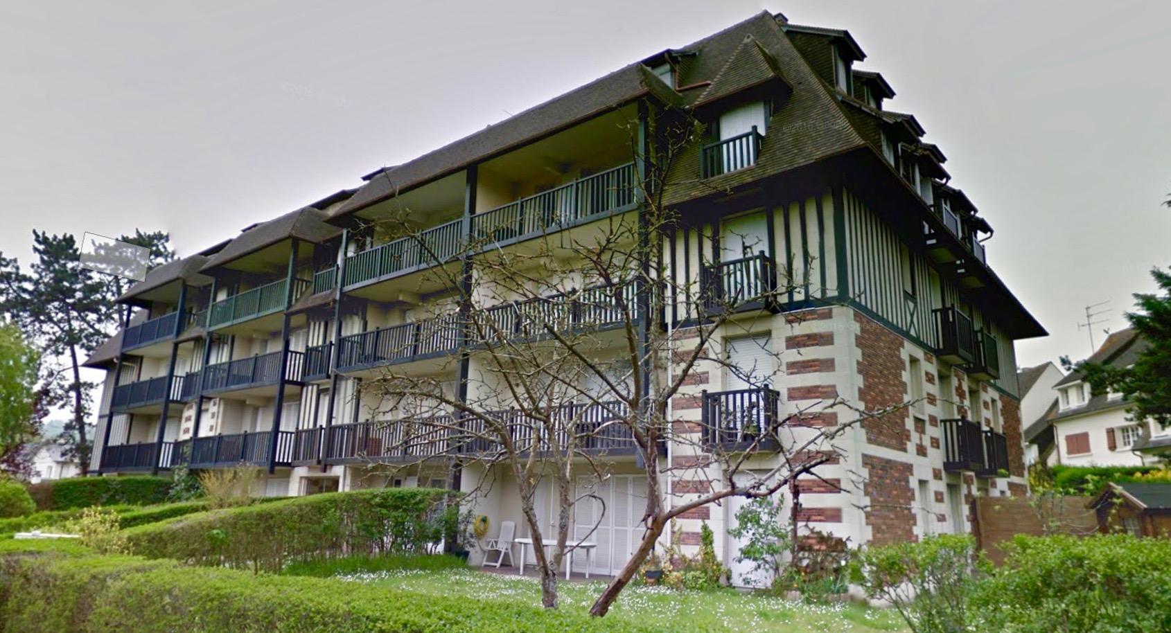 appartement 3 pièces terrasse Tourgeville