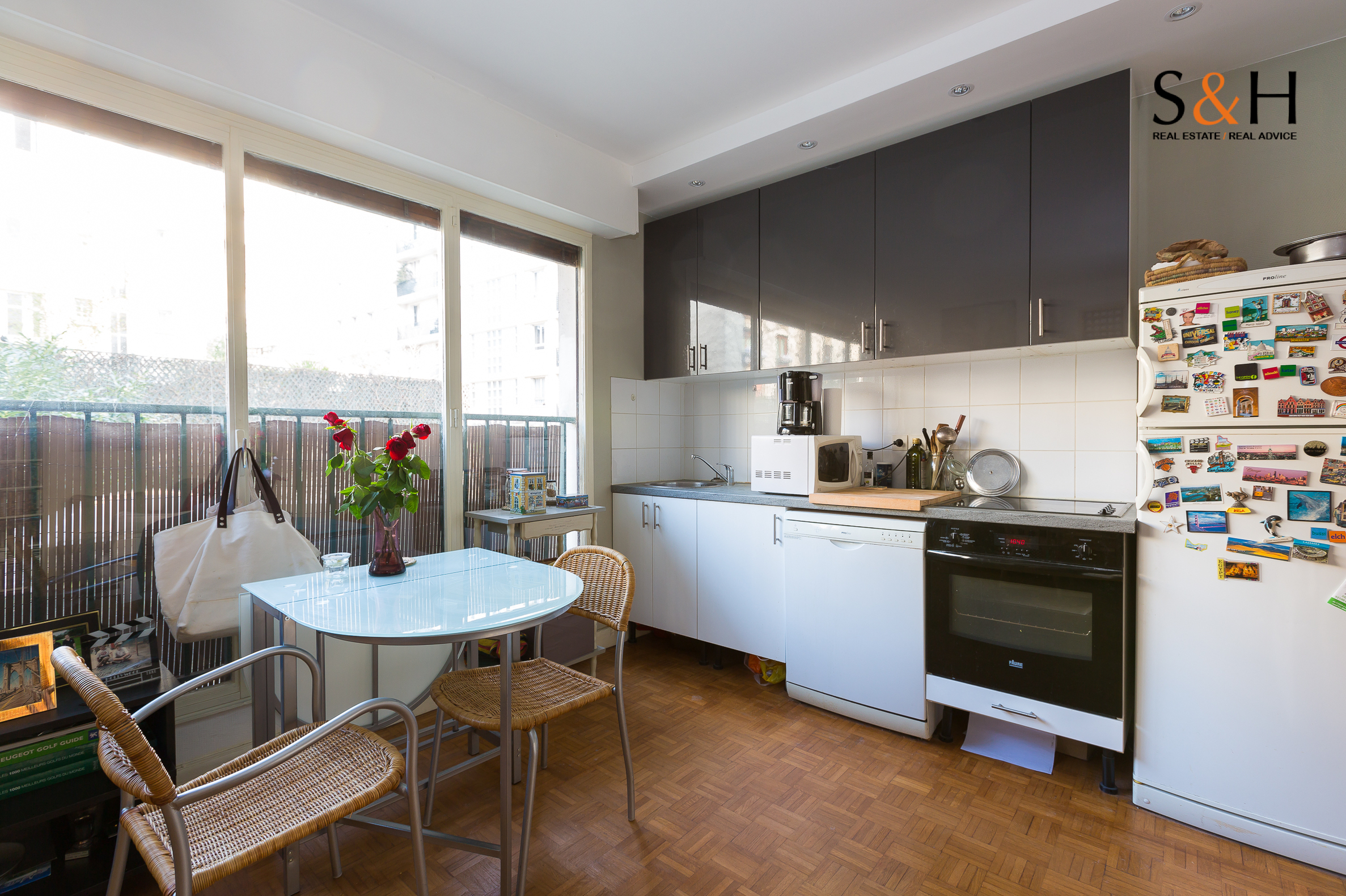 Appartement Boulgne 2 pièces limite Paris 16 à vendre