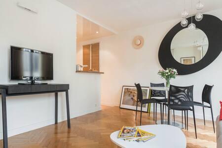 S&H appartement 2 pièces 42m2 Oberkampf Paris